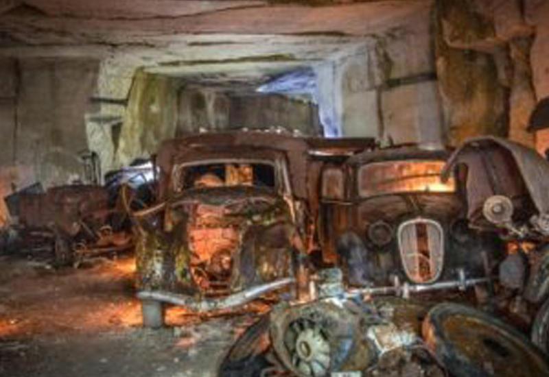 Обнаружено секретное хранилище времен Второй мировой войны