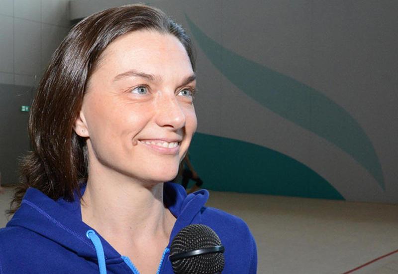 Эрика Детч-Лажаньи: Спасибо Федерации гимнастики Азербайджана за великолепные условия