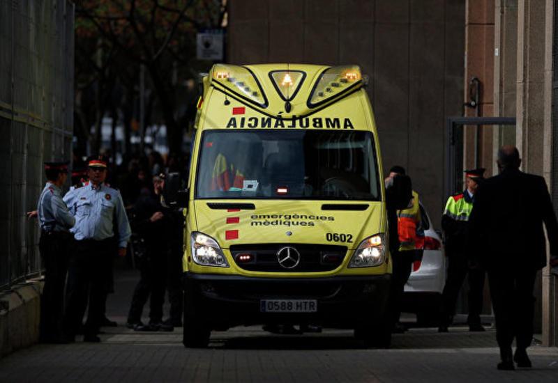Сильный пожар в Барселоне, много пострадавших