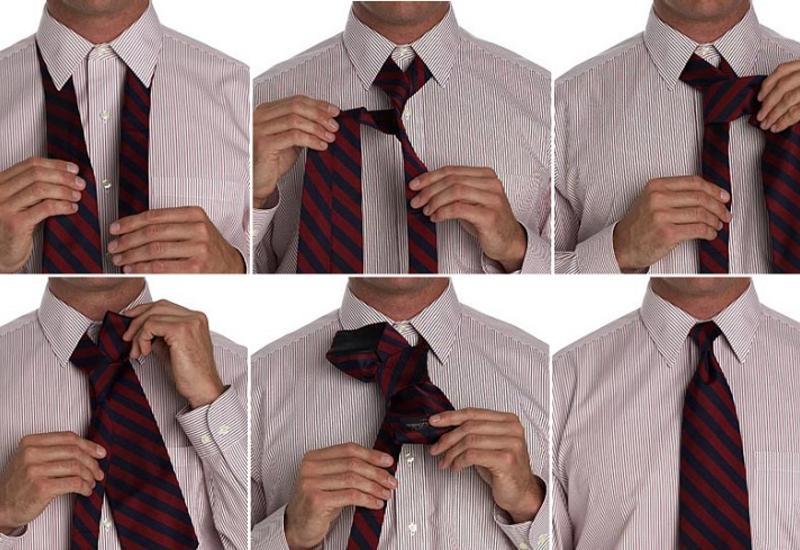 Как быстро и правильно завязывать галстук