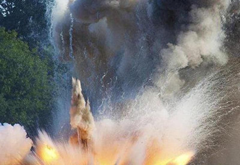 Как взрываются мины