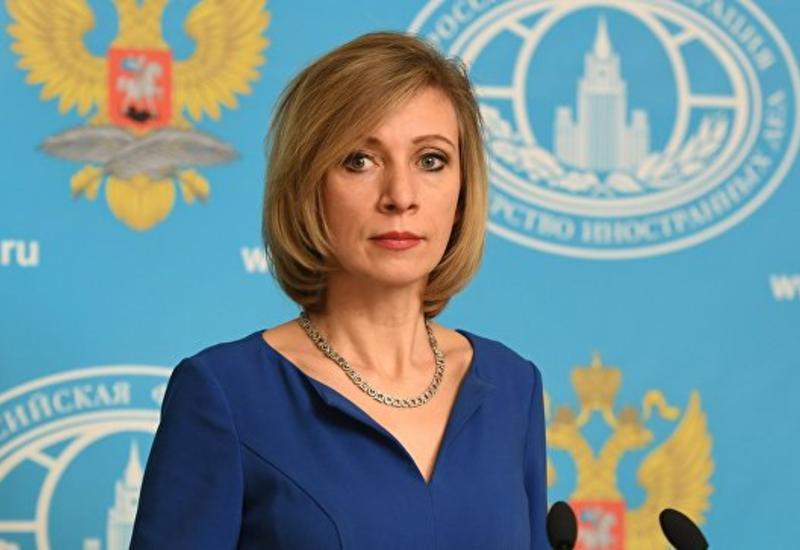 Мария Захарова о предстоящей встрече глав МИД России, Азербайджана и Армении