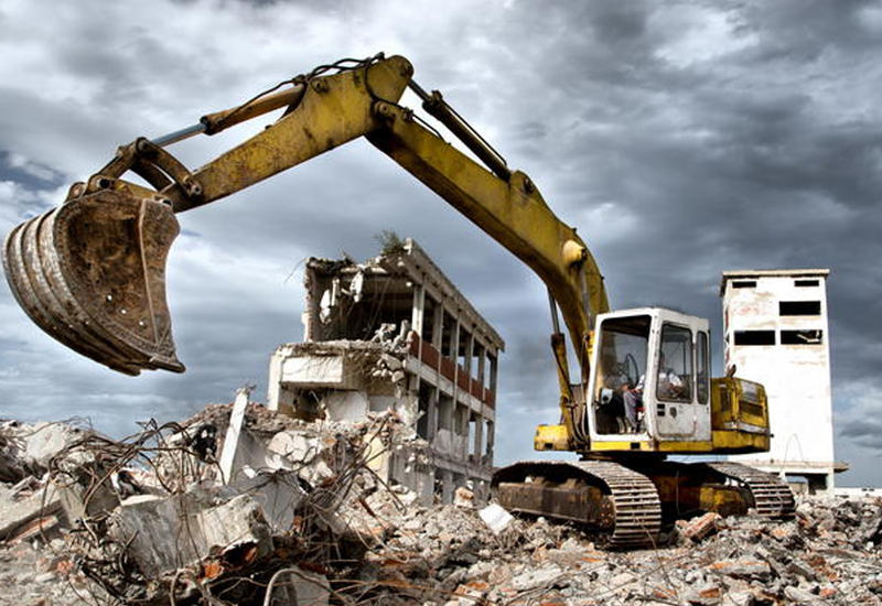 В Баку 17 домов попали под снос