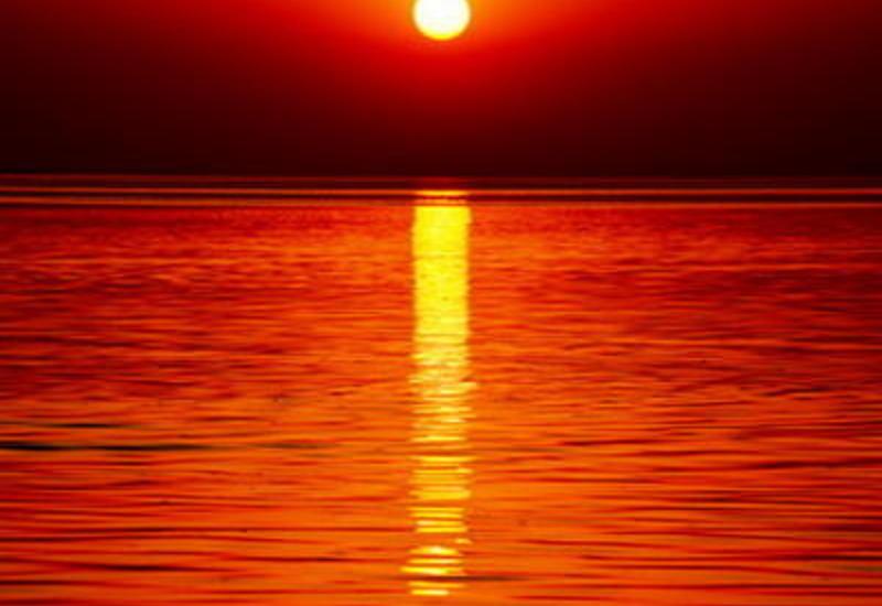 "Потрясающие кадры заката на Мингячевирском водохранилище <span class=""color_red"">- ФОТО</span>"