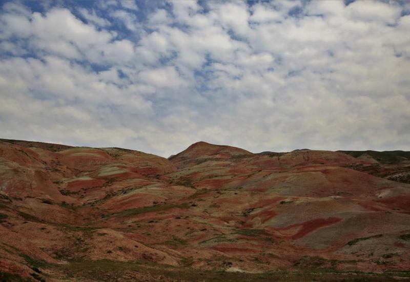 Марсианские пейзажи Хызы - ФОТО