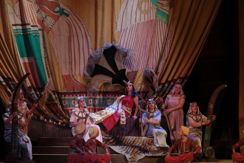 Новая «Аида» на сцене Театра оперы и балета