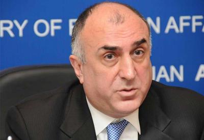 """Эльмар Мамедъяров сделал заявление по Карабаху <span class=""""color_red""""> - На встрече с сопредами МГ ОБСЕ - ФОТО</span>"""