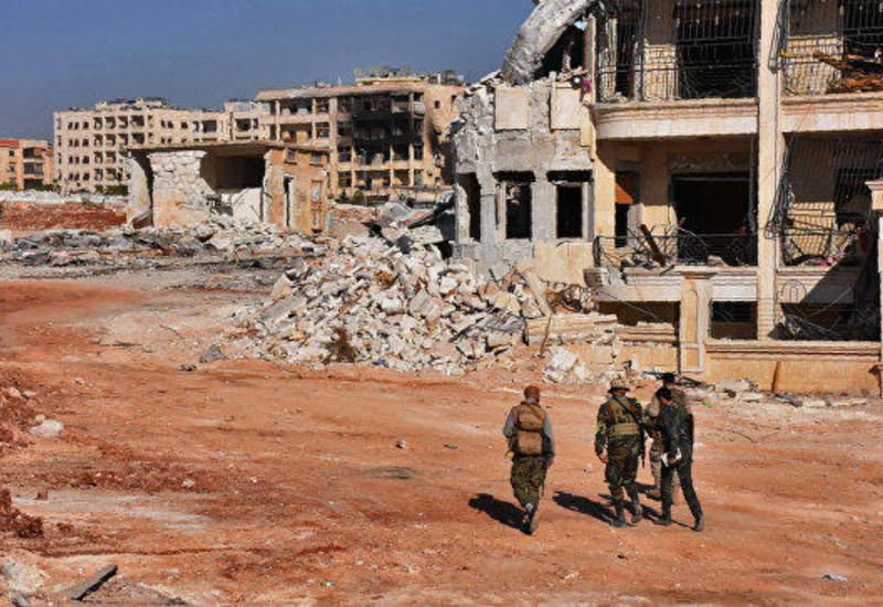 Пять турецких военных погибли при подрыве машины в Алеппо