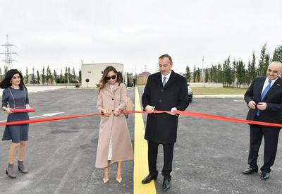 """Президент Ильхам Алиев и его супруга Мехрибан Алиева приняли участие в открытии социальных приютов и реабилитационных центров в Баку <span class=""""color_red"""">- ФОТО</span>"""