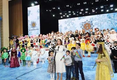 Первая леди Мехрибан Алиева: Мы гордимся тем, что Азербайджан - независимое, сильное, влиятельное государство, занявшее достойное место на карте мира