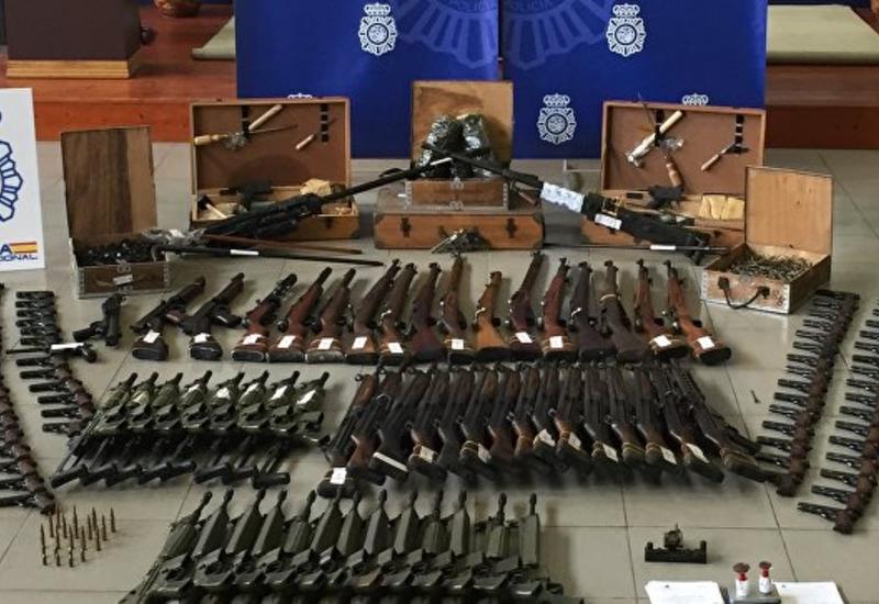 В Испании нашли предназначавшееся боевикам оружие, способное сбить самолет