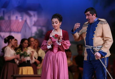 "Театр оперы и балета предложил зрителям ""Любовный напиток"" <span class=""color_red"">- ФОТО</span>"