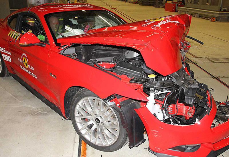Ford Mustang провалил европейские краш-тесты