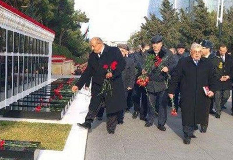 В Азербайджане почтили память погибших во время операции «Дашалты»