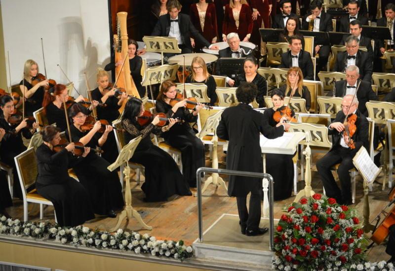 В Филармонии грандиозно отметили юбилей Назима Аливердибекова