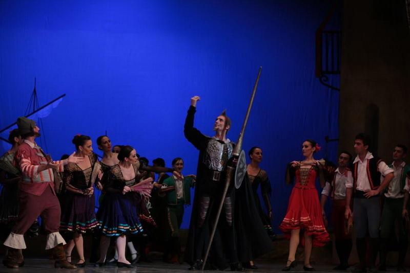 """Триумф белорусских солистов в балете """"Дон Кихот"""" в Баку"""