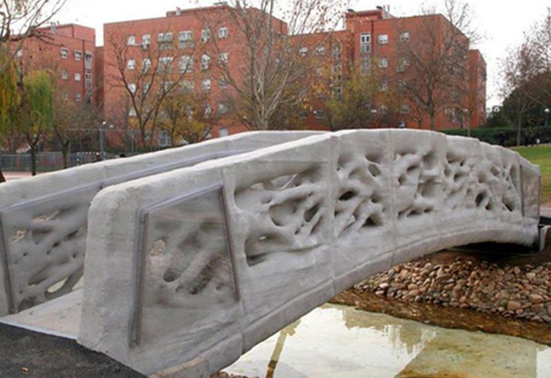 В Испании появился первый мост, распечатанный на 3D-принтере