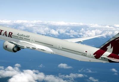 """Самолет Qatar Airways совершил самый длительный в истории полет <span class=""""color_red"""">- ВИДЕО</span>"""