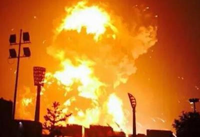 """Сильный взрыв на складе пиротехники в Мексике, есть жертвы <span class=""""color_red"""">- ВИДЕО</span>"""