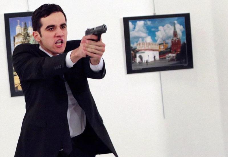 Фотография убийцы посла России в Турции получила премию