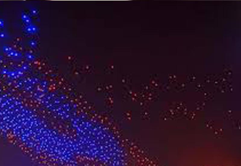 В Китае установили новый мировой рекорд, запустив в небо 1000 дронов
