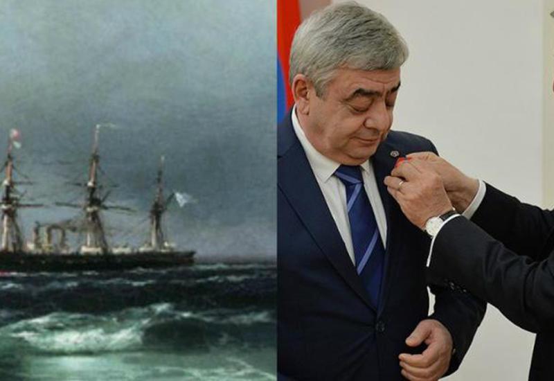 Саргсяну подарили украденную у российского миллионера картину