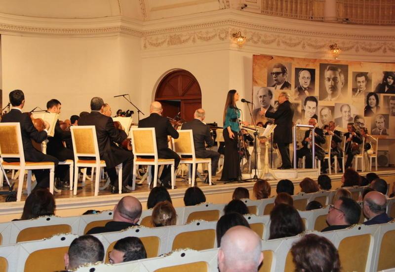 В Филармонии звучала музыка Гаджи Ханмамедова