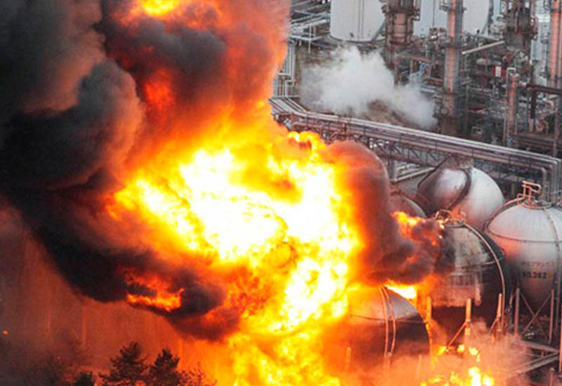 Мощный взрыв на заводе в Китае