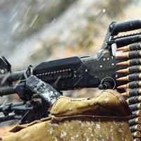 Армяне устроили массированный обстрел из пулеметов на линии фронта