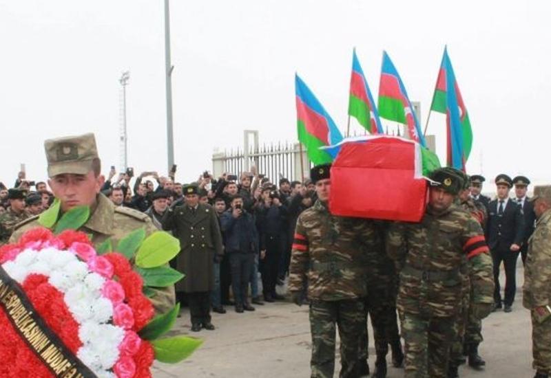 В Ордубаде похоронен шехид Турал Хашымлы