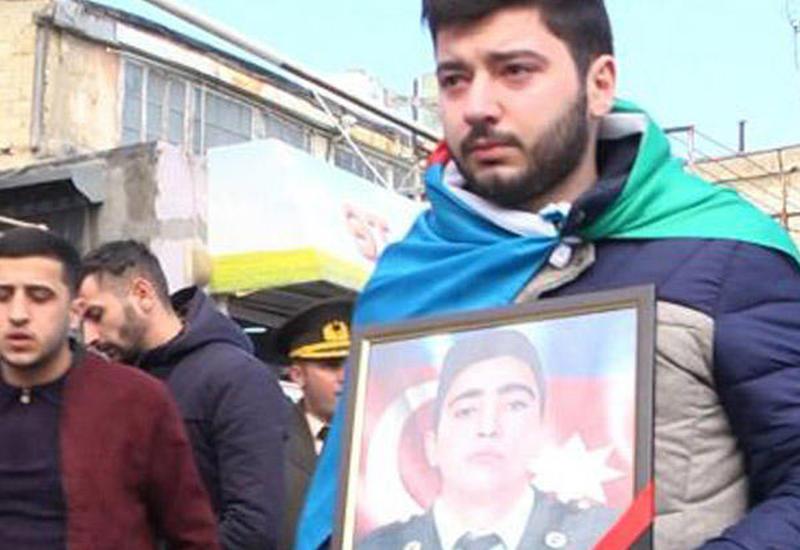 В Баку похоронен шехид Закир Джафаров