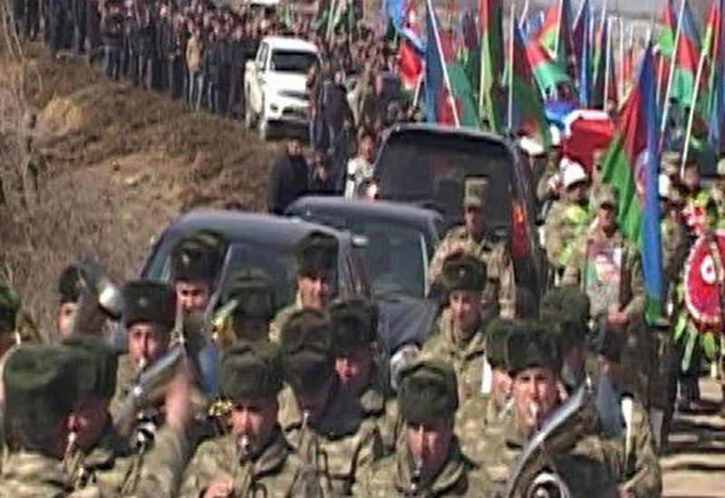 В Бейлагане похоронен шехид Зульфи Гадимов