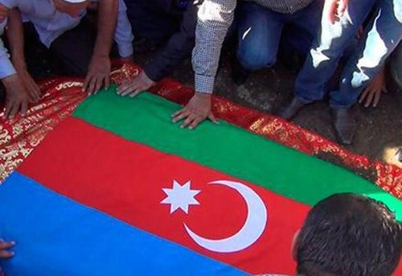 Тело азербайджанского шехида предано земле