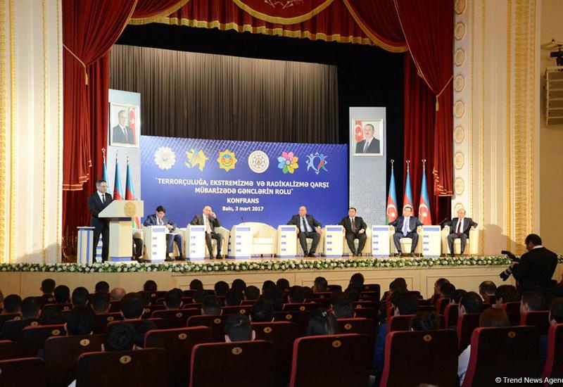 В Баку прошла конференция «Роль молодежи в борьбе с терроризмом, экстремизмом и радикализмом»