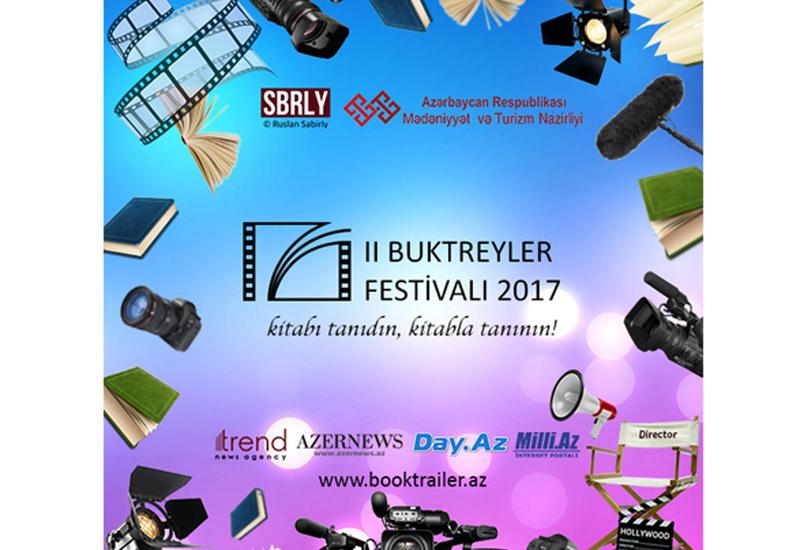 Объявлены дата и место проведения финала второго Фестиваля буктрейлеров в Азербайджане