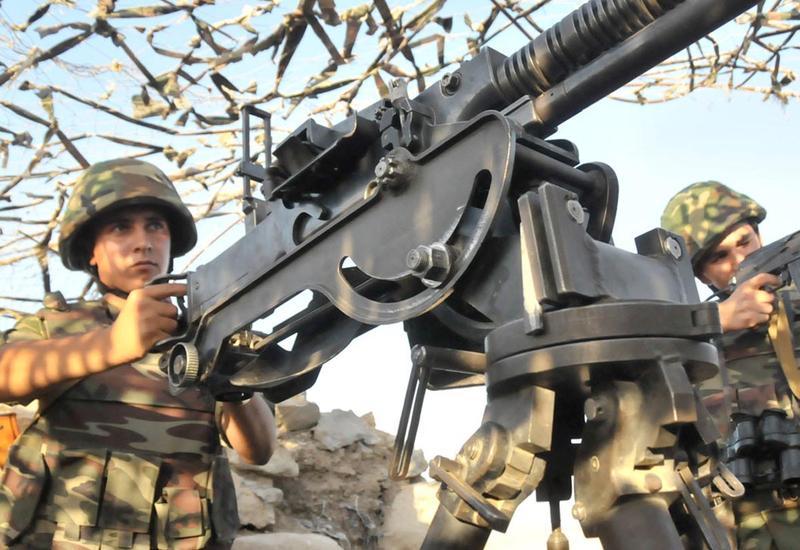 ВС Армении обстреляли азербайджанские позиции из крупнокалиберных пулеметов и снайперских винтовок