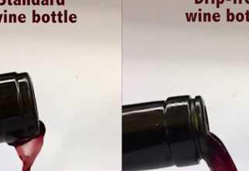 Биофизик создал винную бутылку, с которой не капает