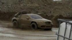 Роскошное купе Bentley превратили в бойца с бездорожьем 37