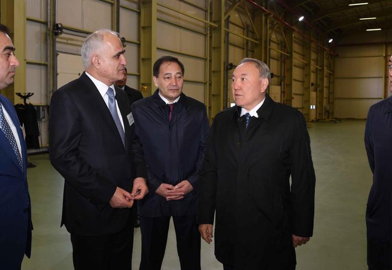 Назарбаев поручил ввести спецрежим для логистического центра азербайджанской компании