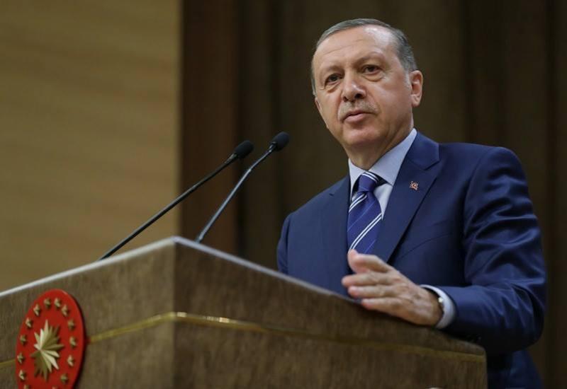 Эрдоган поздравил азербайджанский народ с освобождением оккупированных земель