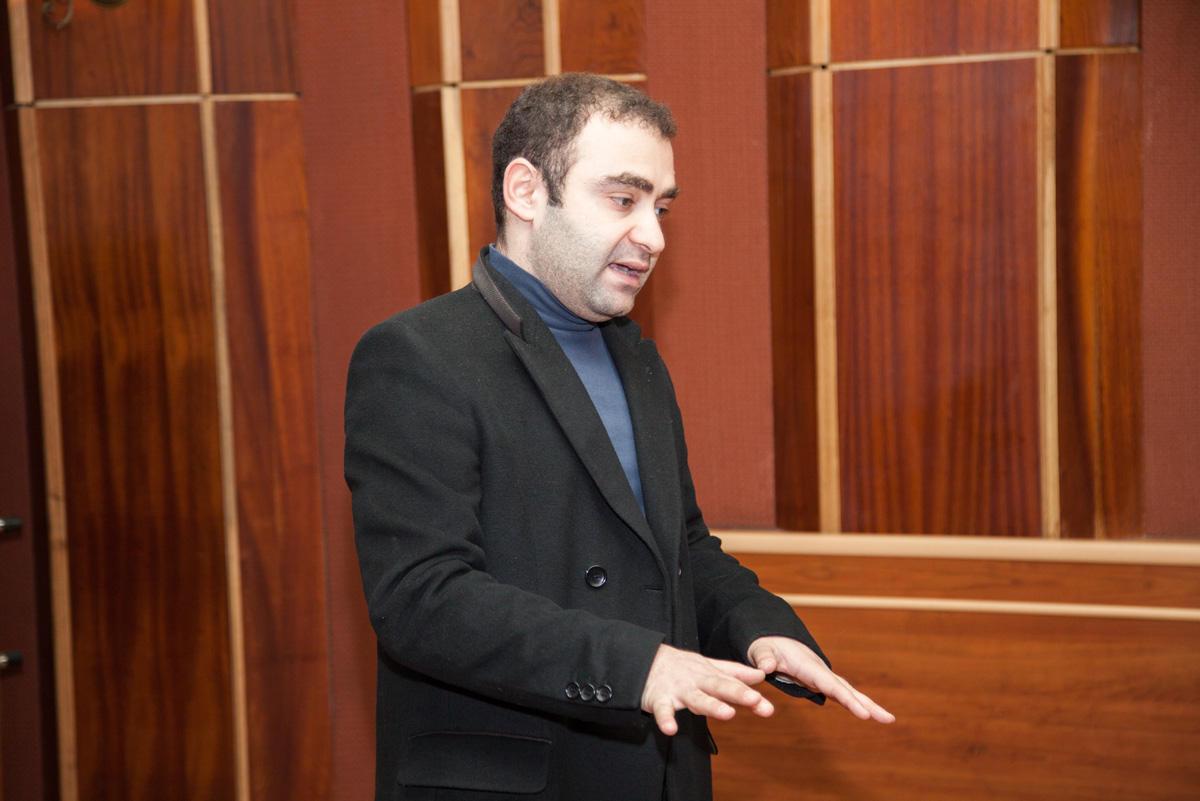 В Баку прошел мастер-класс для участников II Фестиваля буктрейлеров