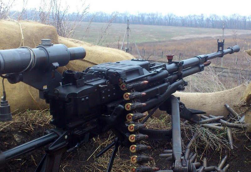 Напряжение на линии фронта: армяне вновь задействовали пулеметы