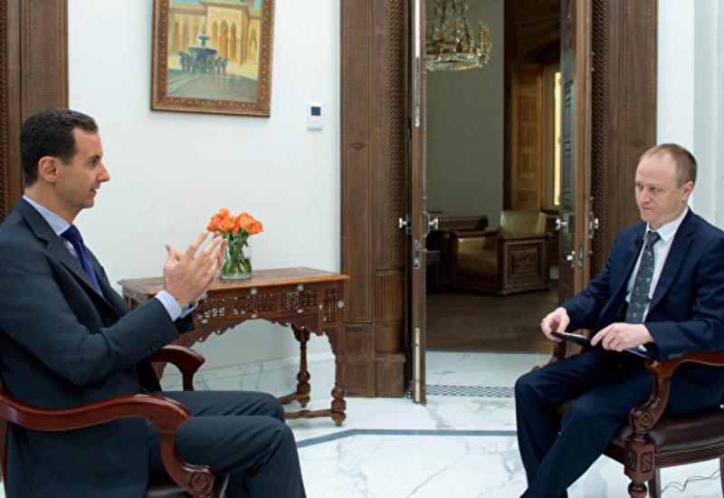 """Асад опроверг сообщения о задержании лидера """"ИГ"""""""