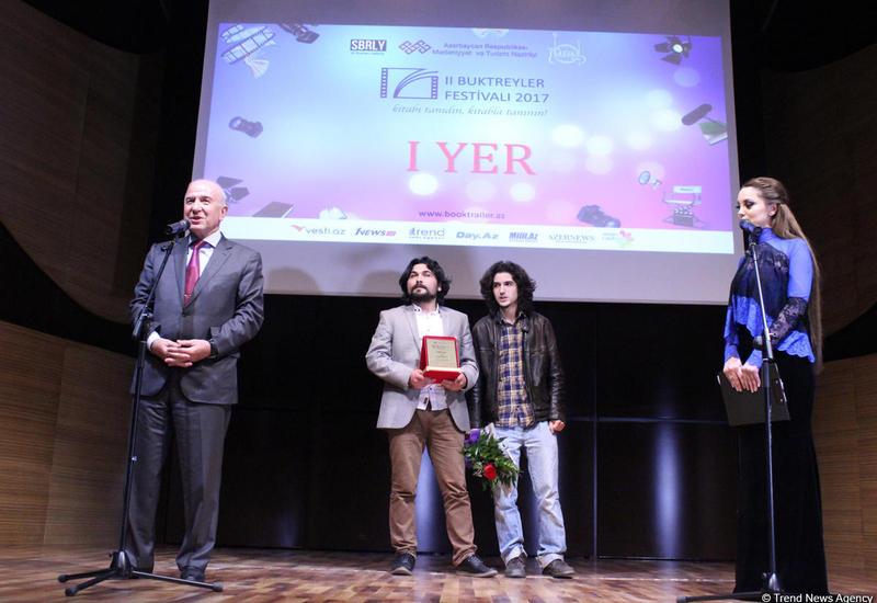 В Центре мугама состоялась церемония награждения второго Фестиваля буктрейлеров