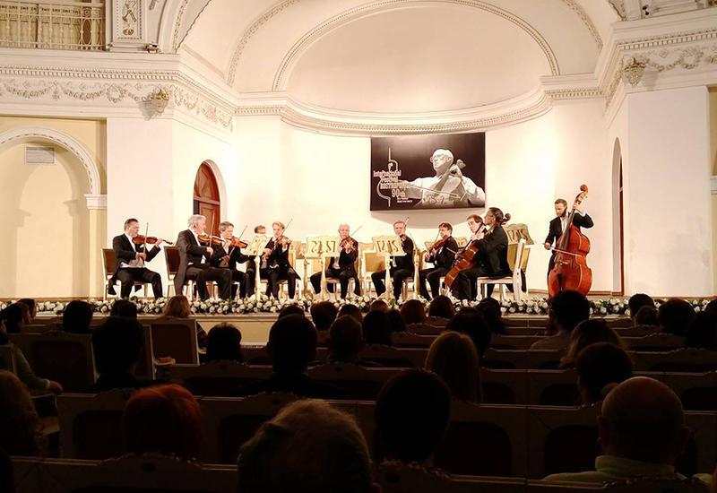 """Камерный оркестр """"Вена – Берлин"""" покорил гостей фестиваля Ростроповича на сцене Филармонии"""