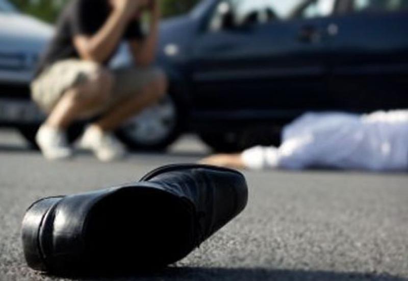 В Габале автомобиль насмерть сбил пешехода