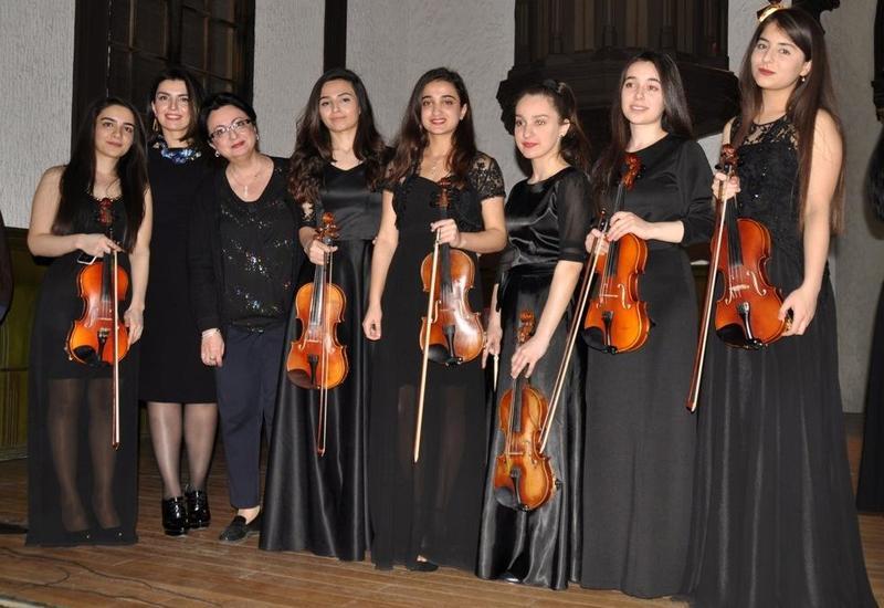 Молодые музыканты в Баку поразили публику виртуозностью исполнения
