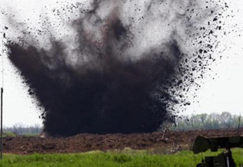 В Армении солдат подорвался на мине