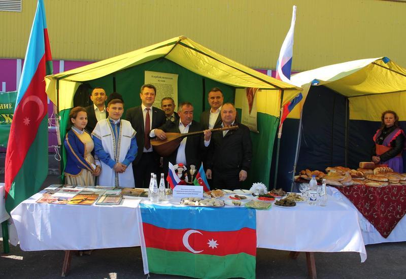 Ульяновские азербайджанцы приняли участие в Фестивале дружбы народов Засвияжского района