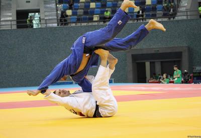 Азербайджанский дзюдоист выиграл серебро Кубка Европы